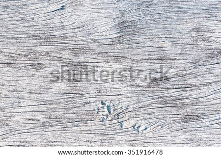 old and grunge white wooden background  with crack