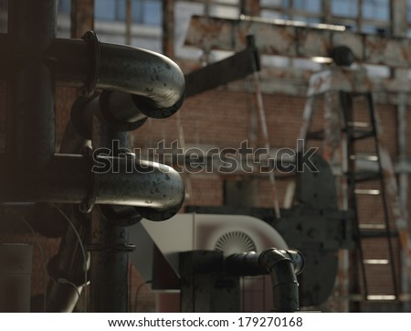 old and rusty fabric - stock photo