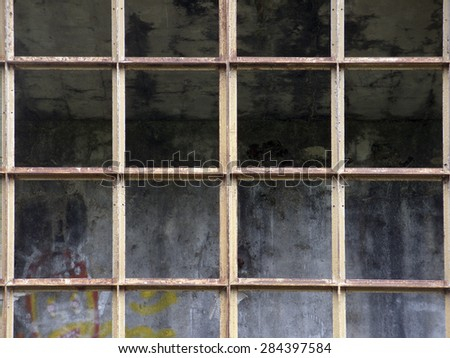 old and rusty steel industrial structure  - stock photo