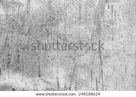 Old and weathered grey wall texture - stock photo