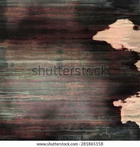 Old and weathered grunge texture. With different color patterns: brown; gray; black; pink - stock photo