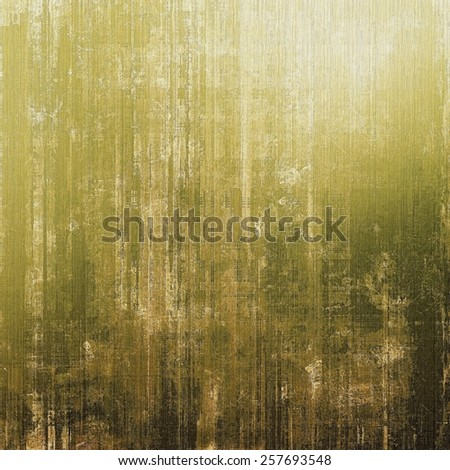Old and weathered grunge texture. With different color patterns: yellow (beige); brown; gray; green - stock photo