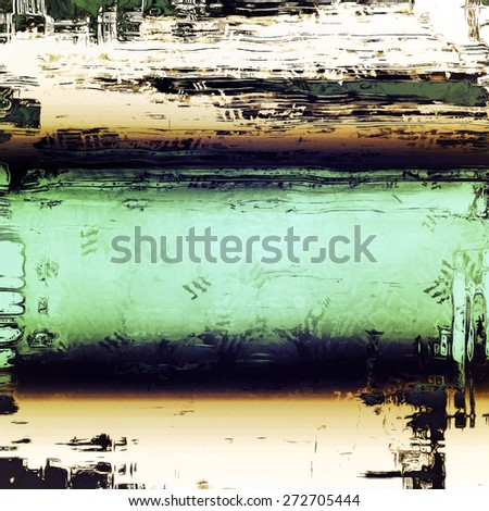 Old and weathered grunge texture. With different color patterns: yellow (beige); gray; green; black - stock photo