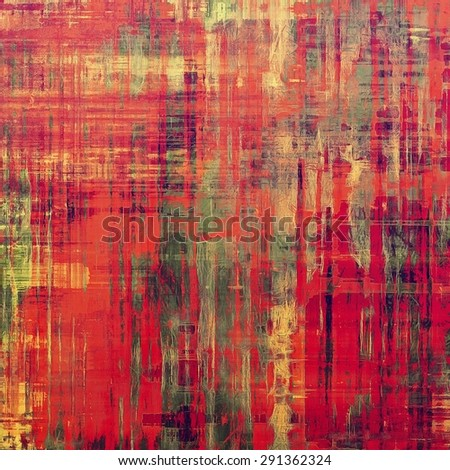 Old and weathered grunge texture. With different color patterns: yellow (beige); gray; pink; red (orange) - stock photo