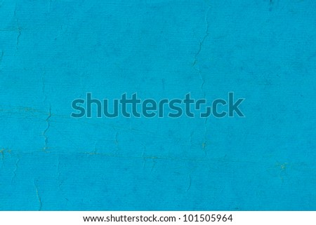 old and worn blue paper - stock photo