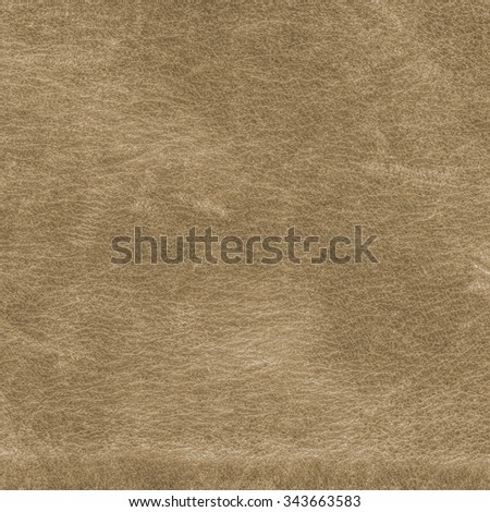 old and worn light brown leather texture