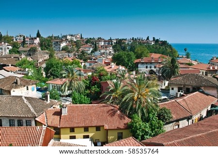 Old Antalya. Turkey. - stock photo