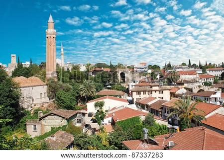 Old Antalya. Turkey - stock photo