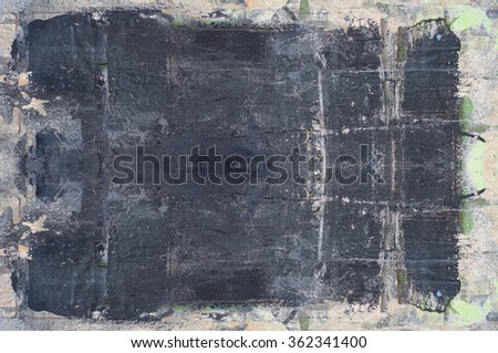 old antique background with pattern - stock photo