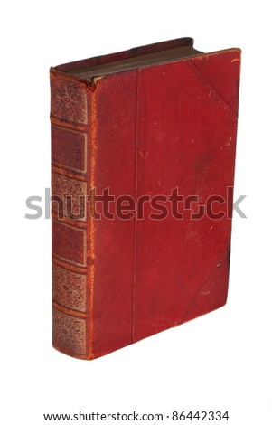 Old antique book - stock photo