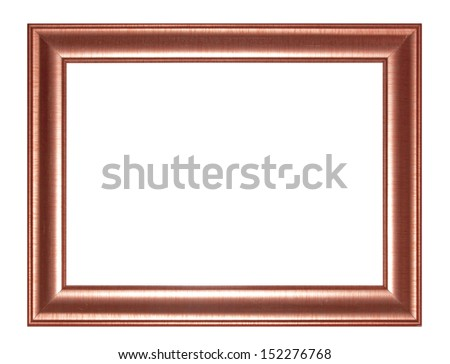 Old Antique red  frame Isolated Decorative Carved Wood Stand Antique  Frame Isolated On White Background