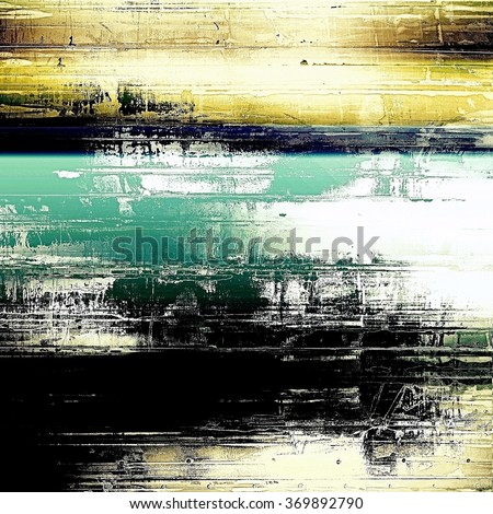 Old antique texture (for background). With different color patterns: yellow (beige); brown; black; blue; white - stock photo