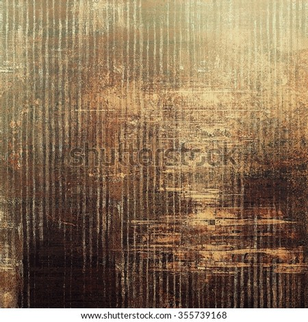 Old antique texture or background. With different color patterns: yellow (beige); brown; gray; black - stock photo