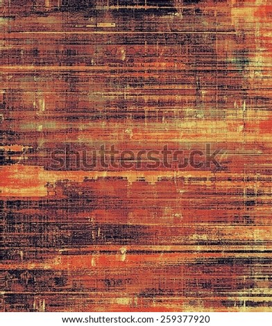Old antique texture or background. With different color patterns: yellow (beige); brown; red (orange); black - stock photo