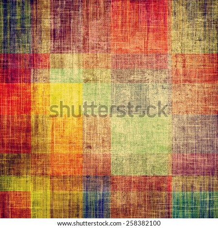 Old antique texture - perfect background with space for your text or image. With different color patterns: yellow (beige); brown; purple (violet); red (orange); green - stock photo