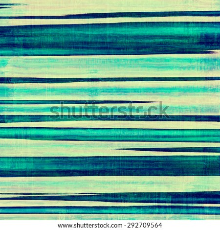 Old antique texture - perfect background with space for your text or image. With different color patterns: yellow (beige); green; blue; cyan - stock photo
