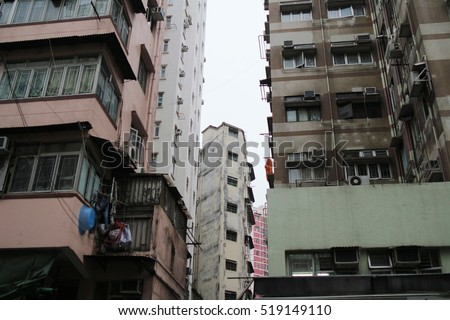 old apartment at sham Shui Po