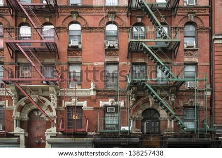 Old Apartment Building In Greenwich Village, Manhattan, New York City Part 85