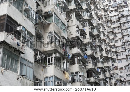 High Quality Old Apartment Building In Hong Kong Part 31