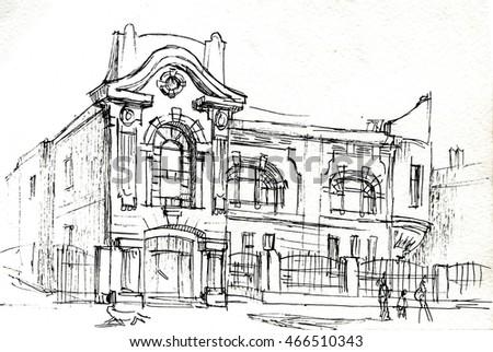 Old Art Nouveau House