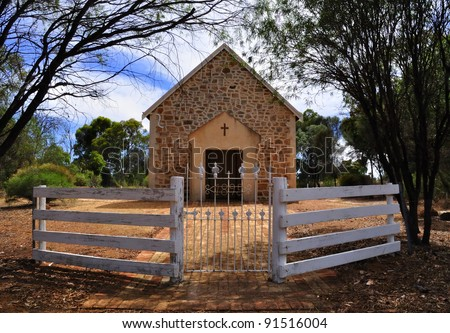 Old Australian Outback Church