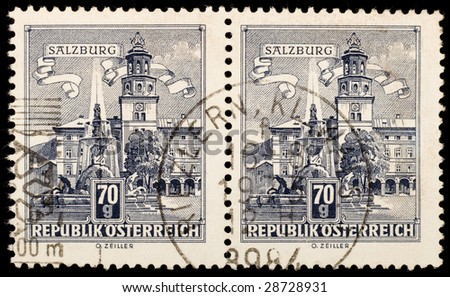 Old Austrian stamps