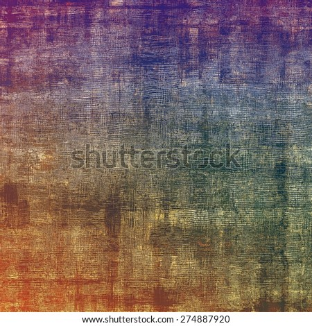 Old background or texture. With different color patterns: brown; purple (violet); green; blue