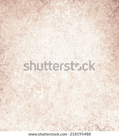 old background paper, vintage texture and distressed brown grunge border with faded white texture - stock photo