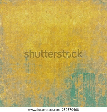 Old background with delicate abstract texture. With different color patterns: yellow (beige); brown; green - stock photo