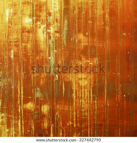 Old background with delicate abstract texture. With different color patterns: yellow (beige); brown; gray; red (orange) - stock photo