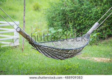 old bamboo hammock in thai country thailand  old bamboo hammock thai country thailand stock photo 488909383      rh   shutterstock