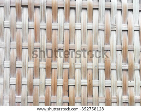 old bamboo texture and background