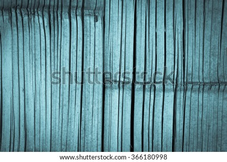 old bamboo wall