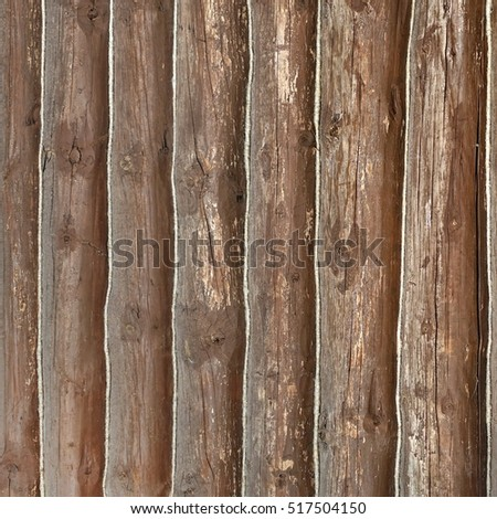 Old Barn Wood Square Background. Brown Red Wooden Frame Texture. Rustic Timber Isolated Wallpaper. Hardwood Outdoor Horizontal Rectangle Signboard Or Billboard With Copy Space. Shabby Paint Wood Panel