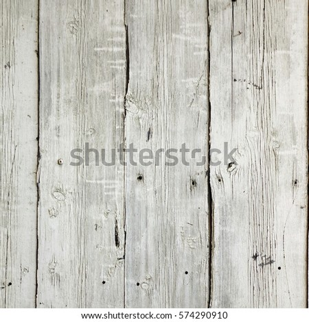 Old Barn Wood Square Background. Grey Wooden Frame Texture. Rustic Timber Isolated White Wallpaper. Hardwood Outdoor Horizontal Rectangle Signboard Or Billboard. Shabby Paint Wood Gray Weathered Panel