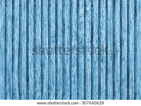 Old Beech Wood Place Mat Bleached and Stained Blue Grunge Texture Sample.