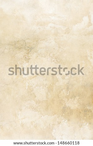 Old, beige grungy background - stock photo