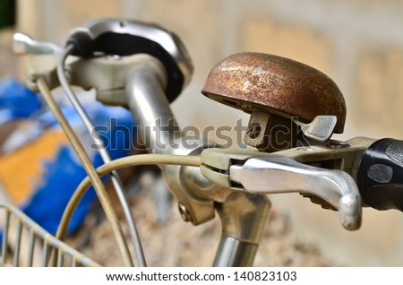 Old bicycle bell