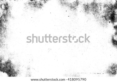Old black and white grunge texture background