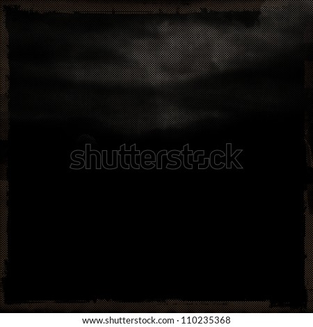 old black grunge background texture paper - stock photo
