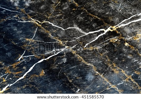 Old black marble texture background