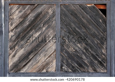 old black wooden background - stock photo