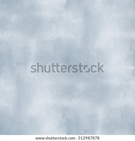 old blue cement wall - seamless grunge background - stock photo