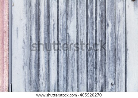 old blue-gray wood panels