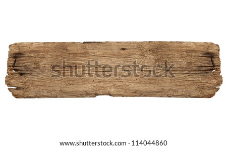 Old Board - stock photo