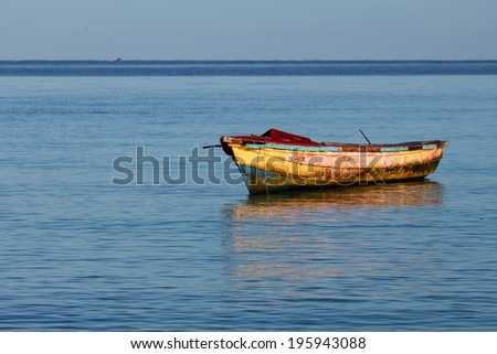 Old boat - Caribbean Sea, Jamaica