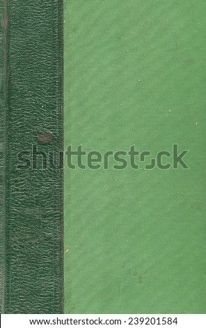 Old book cover, vintage texture
