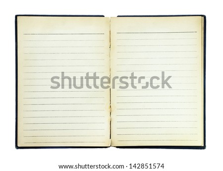 old book page paper - stock photo