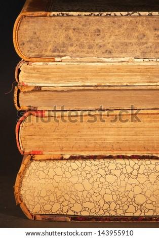 old books - stock photo