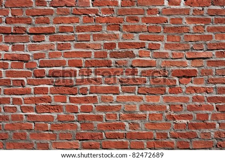 Old Brick Background used for text and wallpaper - stock photo